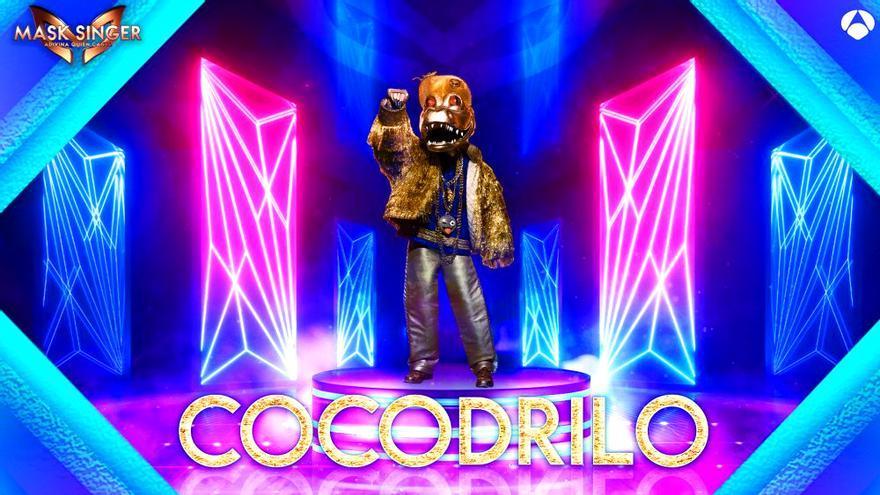 Cocodrilo, una de las máscaras de la segunda temporada de 'Mask Singer'