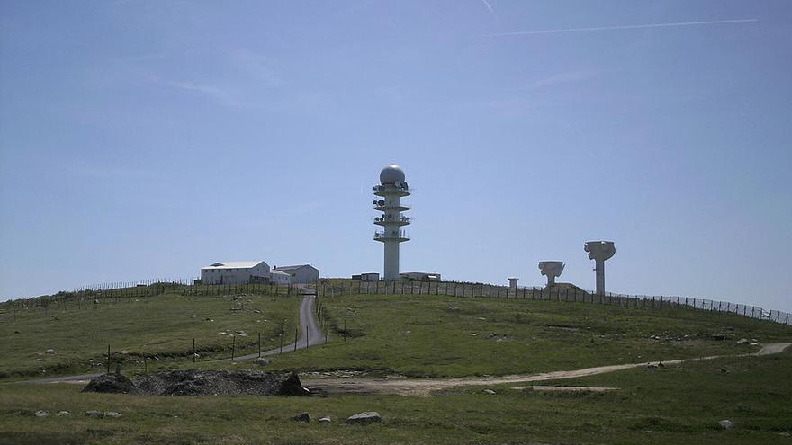 Base militar Pierre-sur-Haute, en Francia