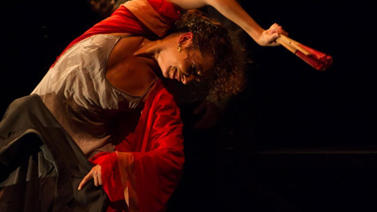 Imagen de archivo de un espectáculo de la Feria de Teatro de Palma.