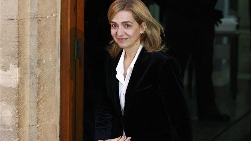 La Infanta Cristina manifestó su voluntad de renunciar al título de duquesa