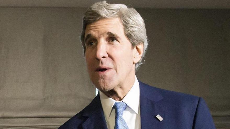 Kerry y Netanyahu se reúnen en Davos para hablar del proceso de paz