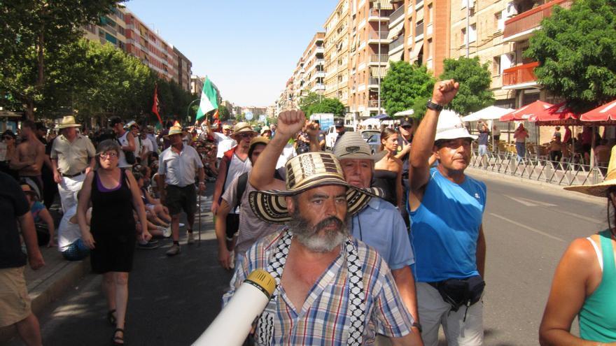 """IULV-CA pedirá al Pleno del Parlamento andaluz que rechace el """"exagerado"""" despliegue policial en la marcha del SAT"""