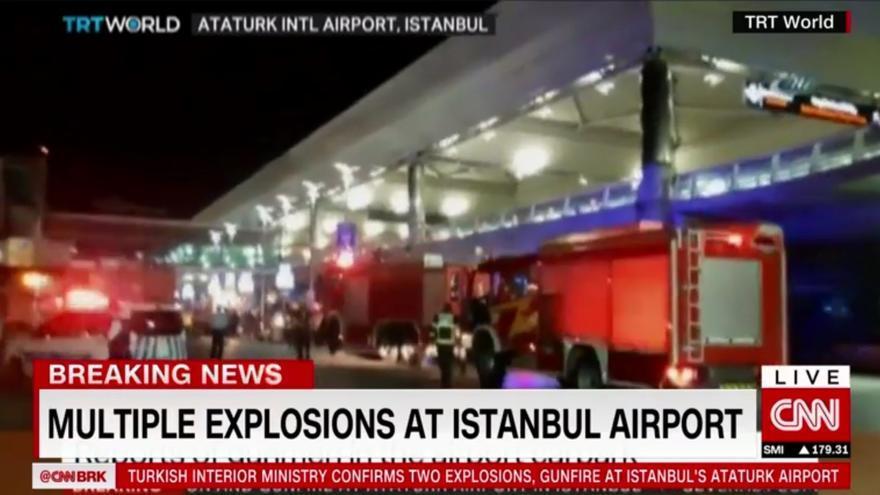 Atentado en el aeropuerto Ataturk de Estambul.