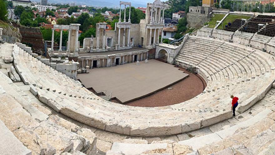 El Teatro Romano de Plovdiv es de los mejor conservados de Europa. Philip Kromer