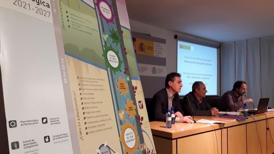 Reunión en Albacete del proceso de planificación del Júcar.