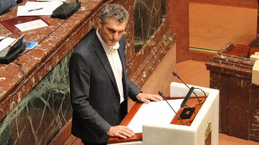 Oscar Urralburu, Portavoz Podemos, Asamblea Regional de Murcia