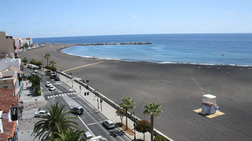 En la imagen, la playa de Santa Cruz de La Palma.