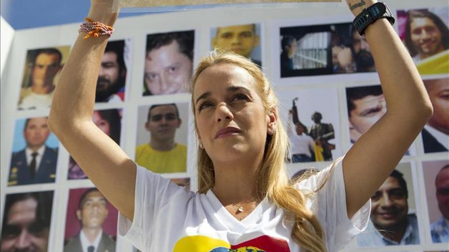 Tintori le pide a Maduro otorgar un indulto a López y no esperar a la ley de amnistía