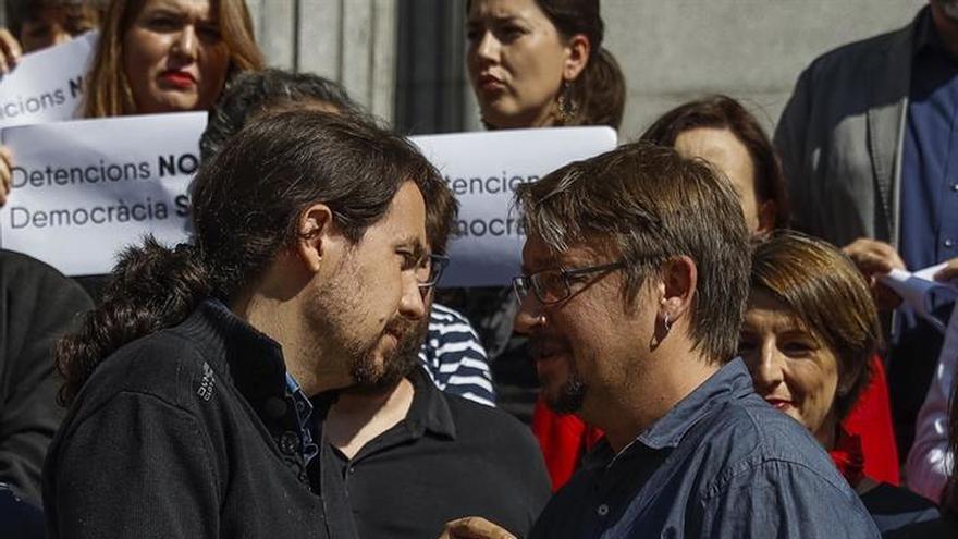 """Iglesias llama a los """"demócratas"""" a concentrarse en Sol por las libertades"""