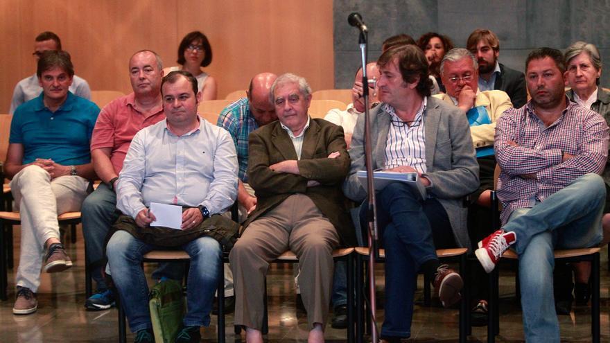 El exconsejero de Educación del Gobierno socialista de Asturias durante el juicio por prevaricación, fraude y cohecho