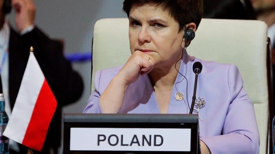 La primera ministra polaca arremete contra el PE por las críticas a su Gobierno
