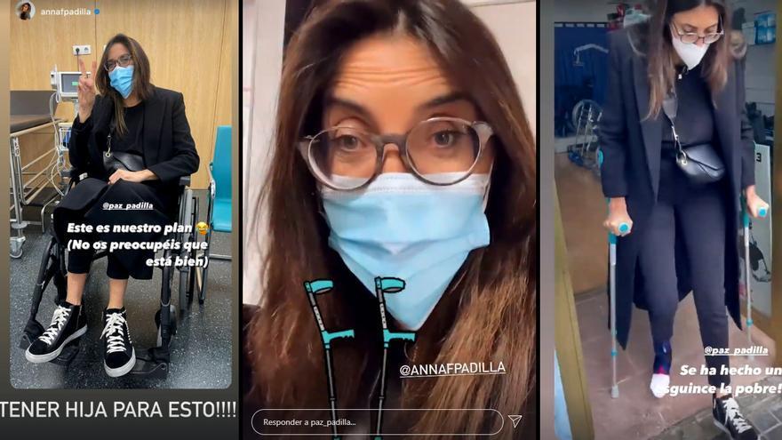 Paz Padilla en las imágenes difundidas a través de su Instagram