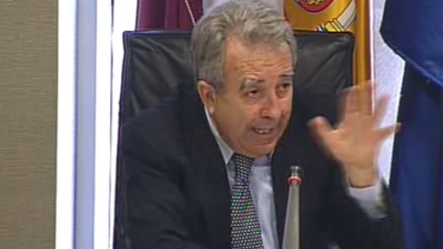 Cerdá ha dado sus explicaciones en la Comisión de Investigación sobre la desalinizadora de Escombreras