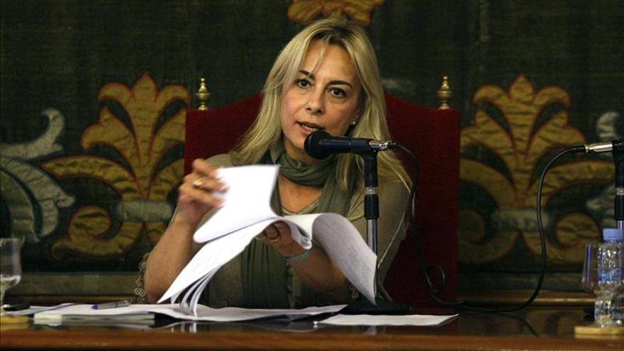 """Sonia Castedo llega al juzgado para """"dar todo tipo de explicaciones"""" al juez"""