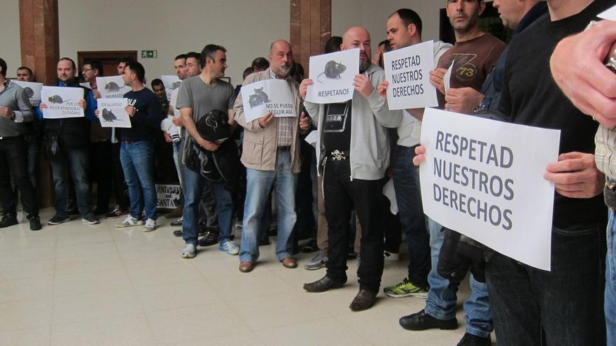 Los policías locales reanudarán el lunes sus concentraciones de protesta