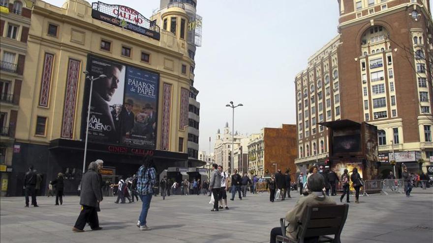 Callao, como Times Square