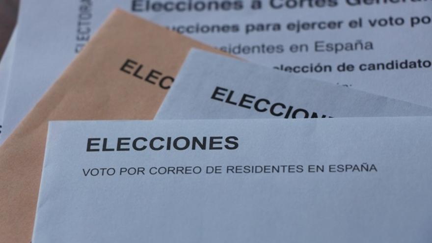 Las peticiones de voto por correo bajan un 8,7% en estas elecciones generales