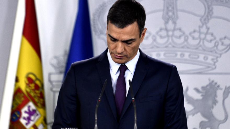 """Sánchez convoca generales el 28 de abril porque no puede """"gobernar sin Presupuesto"""" y culpa a PP y Cs"""