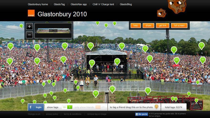 Orange Glastonbury 2010