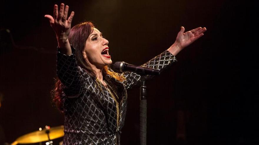 Luz Casal espera que su Medalla de Artes de Madrid estimule a jóvenes músicos