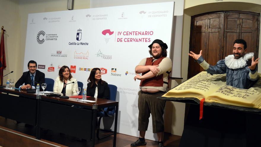 Presentación de los actos en Ciudad Real