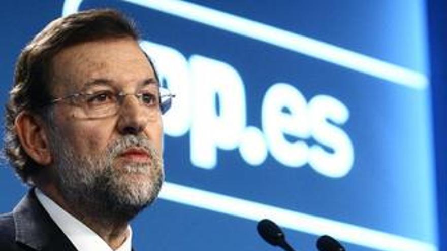 """Rajoy: """"Ninguna comunidad autónoma del PP va a subir los impuestos"""""""