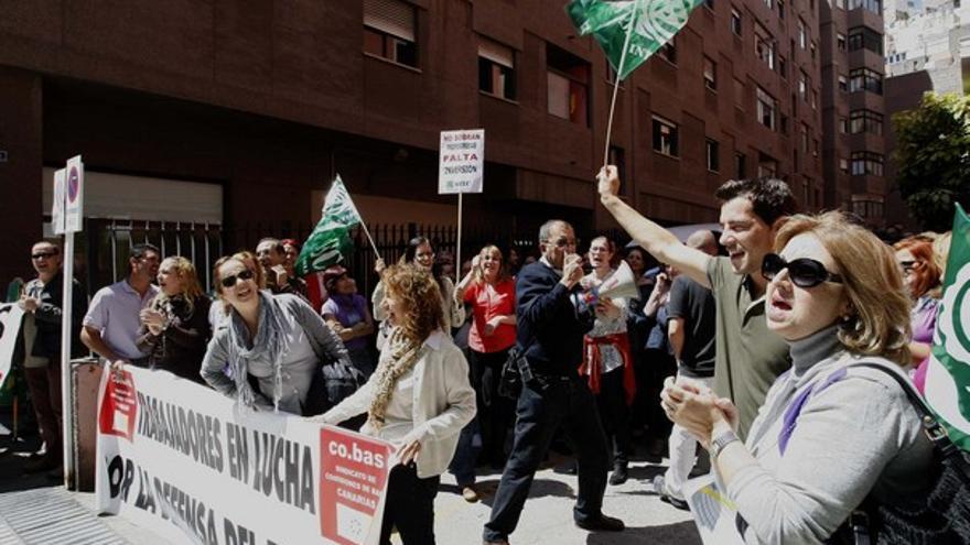 De la protesta ante Educación #1