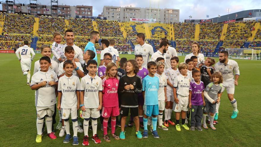 Alineación del Real Madrid. (ALEJANDRO RAMOS)