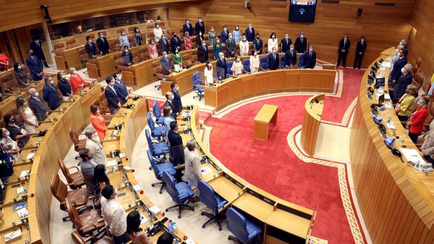 ElParlamentogallego inició el 7 de agosto la XI legislatura con la toma de posesión de las actas de los diputados y diputadas.