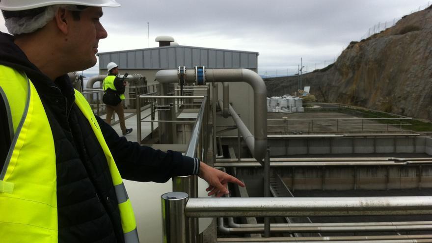 Técnicos de AEOPAS y representantes del gobierno municipal visitaron las instalaciones el lunes