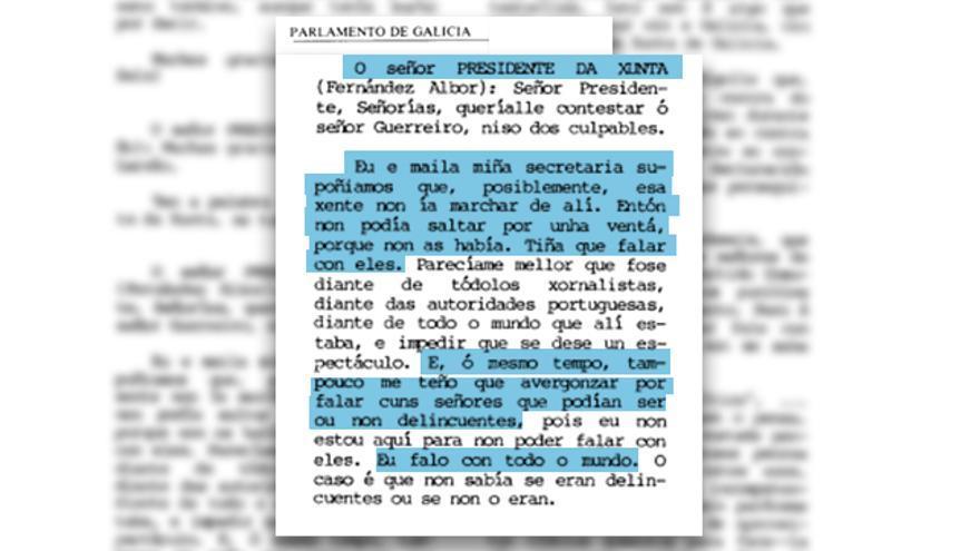 Diario de sesiones Parlamento de Galicia noviembre 1984 (1)