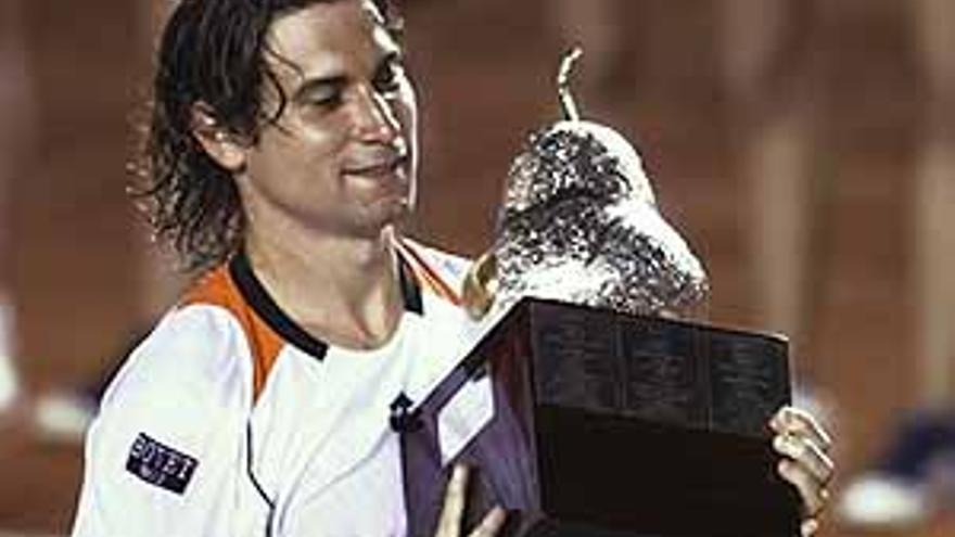 El tenista David Ferrer.