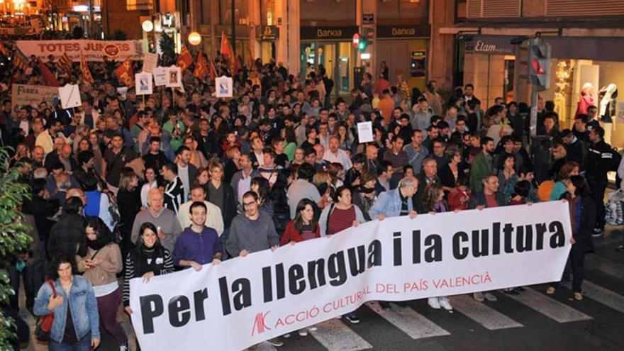 Acció Cultural pel País Valencià se moviliza contra el cierre de RTVV