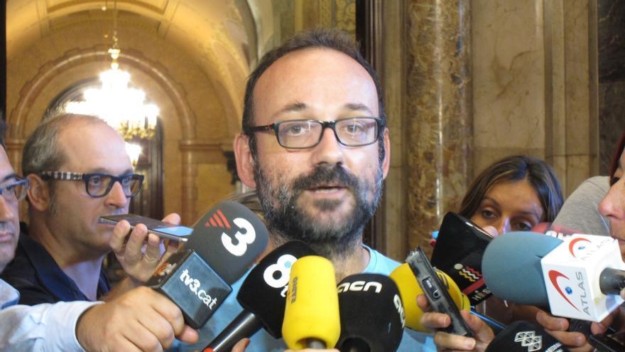 """Salellas (CUP) ve los Presupuestos catalanes para 2017 de """"extremadamente continuistas"""" y no atienden sus peticiones"""
