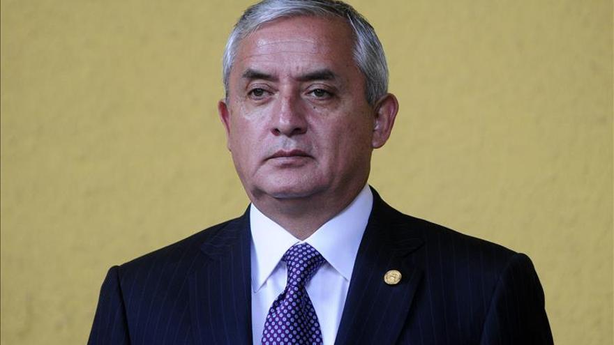La Fiscalía de Guatemala formaliza la acusación contra Pérez Molina por corrupción