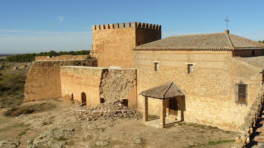 Derrumbe de la muralla del Castillo de Peñarroya, Ciudad Real