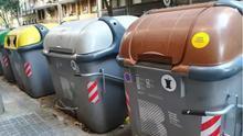 Vuelven los contenedores al Eixample de Barcelona: el Ayuntamiento los repone un mes después de los altercados