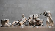 Los frisos del Partenón en el Museo Británico de Londres (Reino Unido)