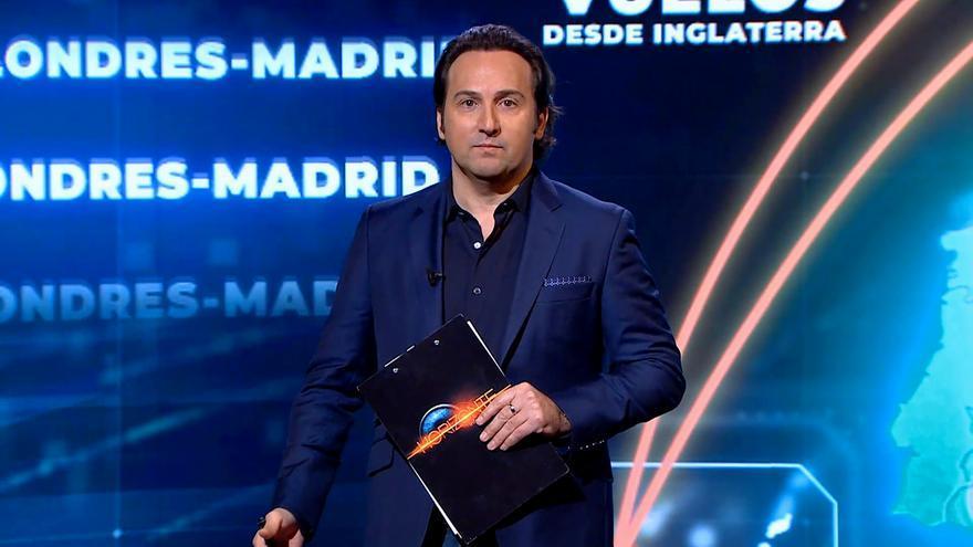 Iker Jiménez presenta 'Horizonte Covid'