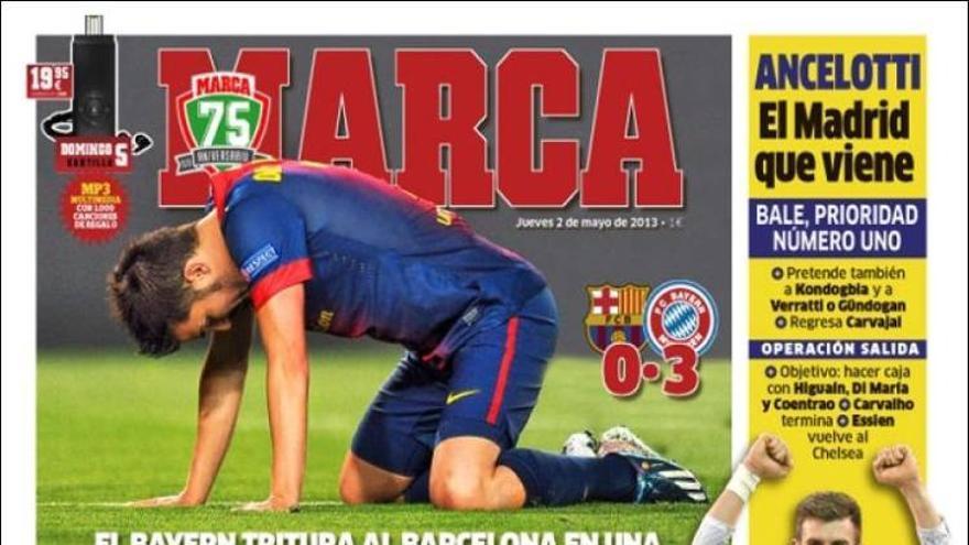Las portadas del día (2-05-2012) #10