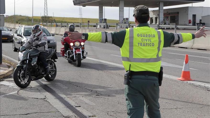 Doce muertos en las carreteras españolas durante el fin de semana