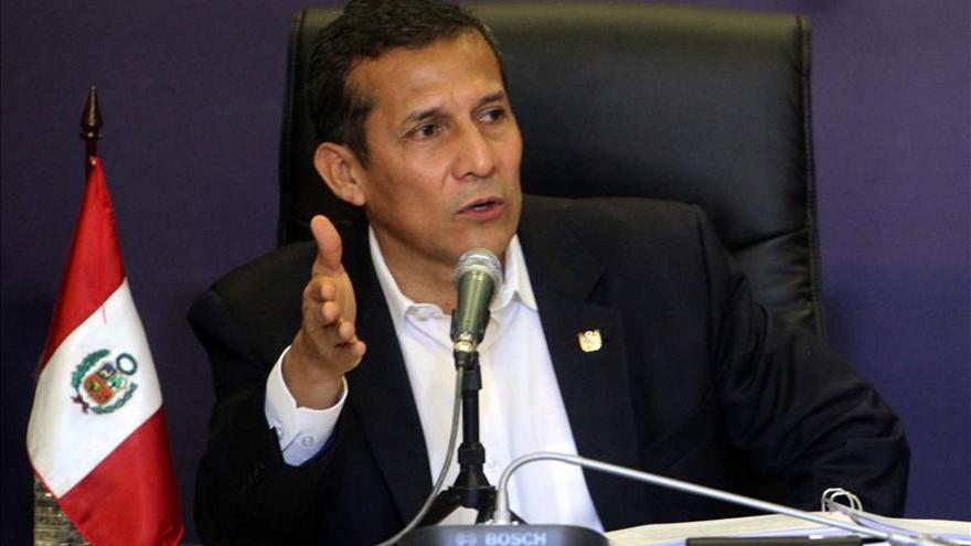 "Humala afirma que dejará ""un Perú tremendamente superior"" al que recibió"