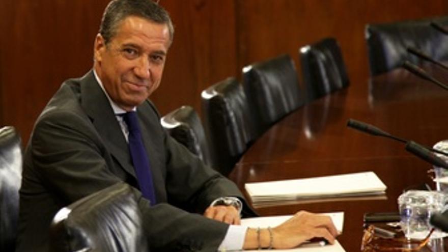 Eduardo Zaplana, hoy en la comisión de los ERE