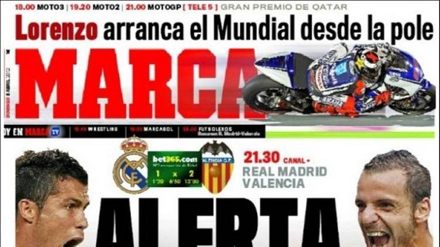 De las portadas del día (08/04/2012) #12