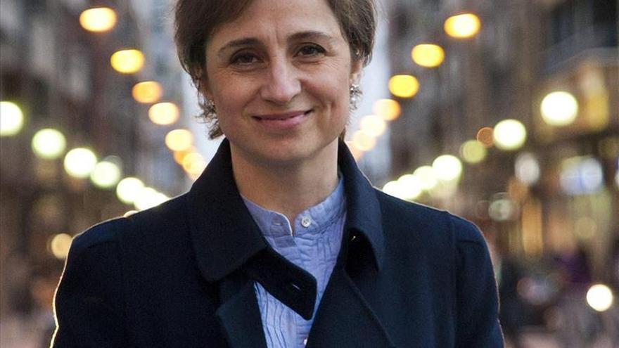 """Aristegui demanda a México ante la CIDH por """"obstruir"""" su litigio con el grupo MVS"""