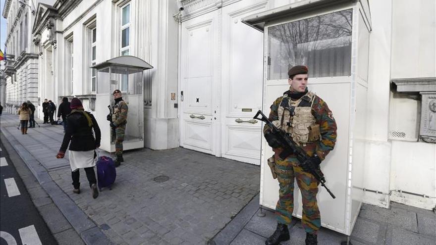 El Consejo de Seguridad belga se reúne de nuevo para evaluar nivel de amenaza