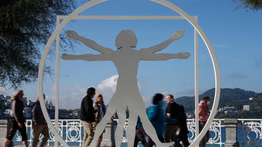 """Una exposición muestra en Donostia la """"curiosidad insaciable"""" de Da Vinci"""