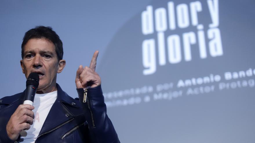"""Antonio Banderas ve """"complicado"""" ganar el Oscar pero destaca que el premio es la propia nominación"""