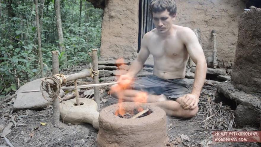 John Plant en una imagen de su Vlog