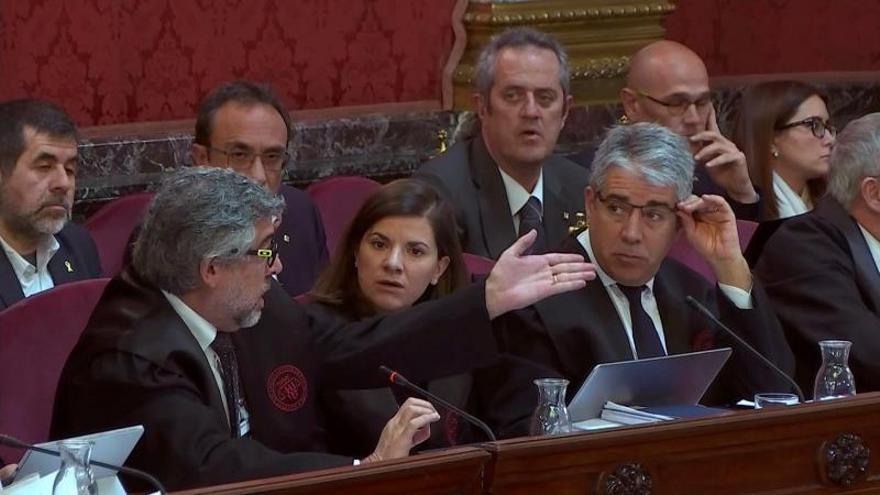 Mando investigador del 1-O: Cataluña era un polvorín con clima insurreccional